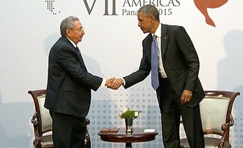 History made: Cuba and The United States