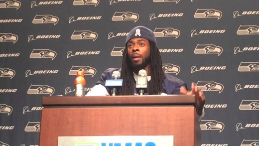 (A.T.M.W.D-AND THE MIC WAS DROPPED) Richard Sherman speaks about BLM